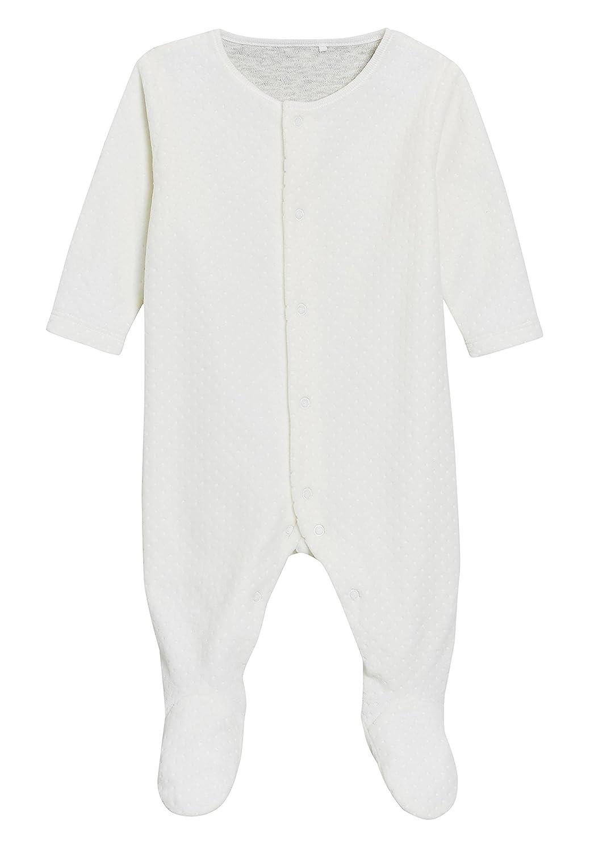 next Bebé-Niños Pijamas Tipo Pelele De Terciopelo (0-18 Meses): Amazon.es: Ropa y accesorios