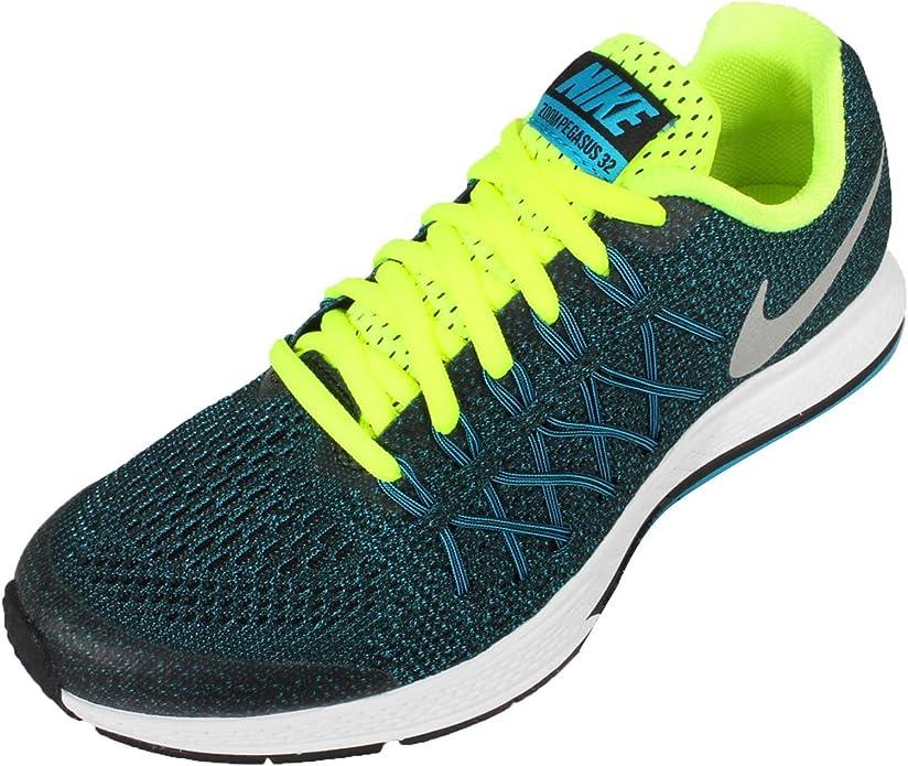 Nike Zoom Pegasus 32 (GS), Scarpe da Corsa Bambino, Nero