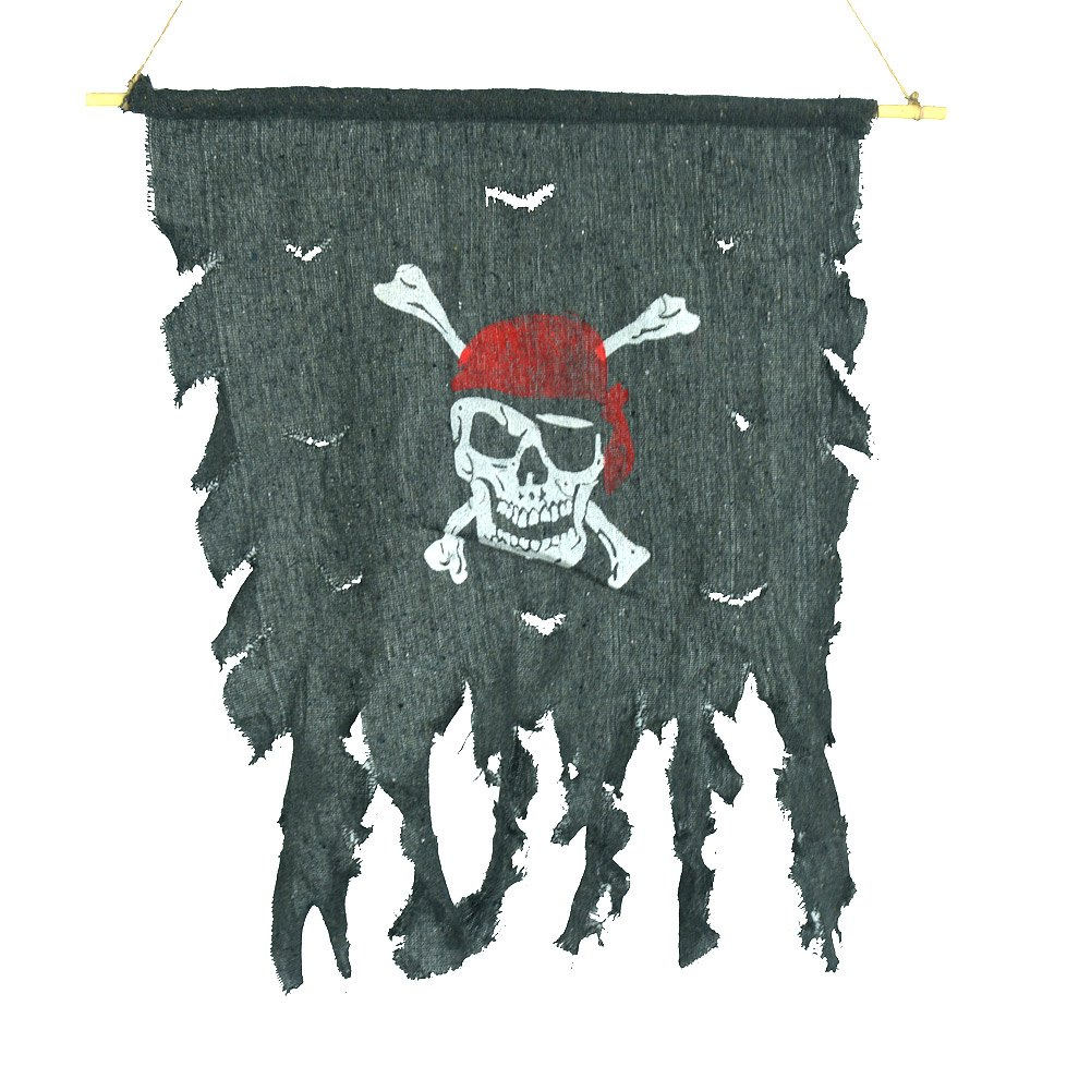 Halloween Cosplay traje de baño Tattered de bandera pirata pañuelo ...