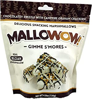 product image for Mallowow! Magical Marshmallow, S'mores, 4.8 Ounce Bags (3 Pack) Gourmet Marshmallow Snackable Cluster