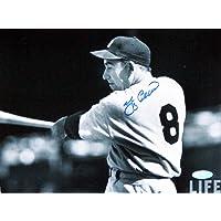 MLB Yankees de Nueva York Yogi Berra firmada Swing Horizontal 8x 10Fotos