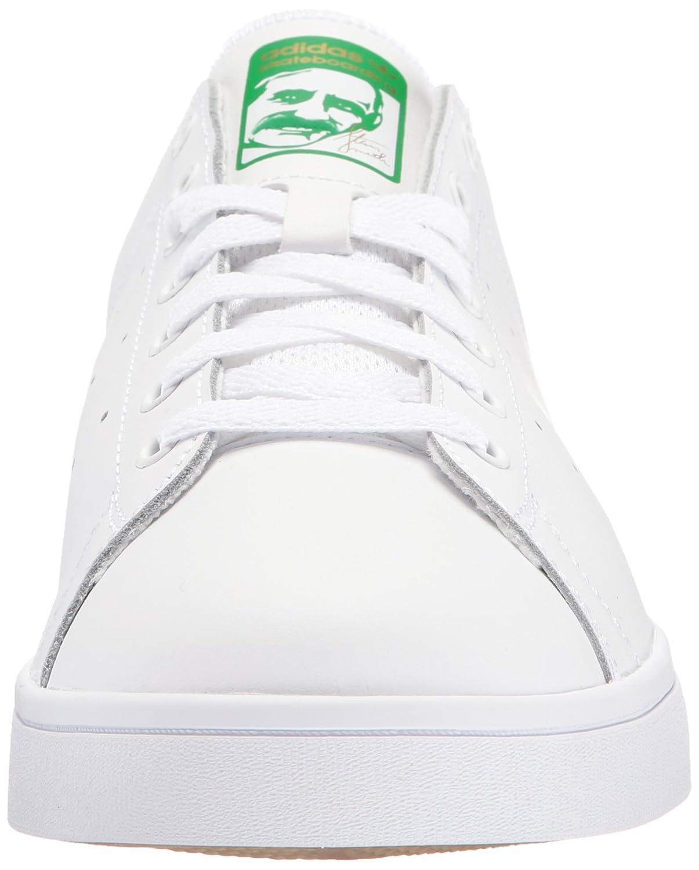 new style 99422 1832b adidas da Uomo Stan Smith Vulc Scarpe Skate, Bianco (Ftwwht Ftwwht Green),  43 1 3 EU  Amazon.it  Scarpe e borse
