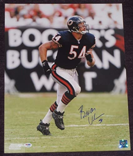 cd2822ff194 Brian Urlacher Signed Bears 16x20 Photo - PSA DNA Authenticated at ...