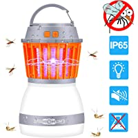 MINGER Bug Zapper & Camping Lantern, 2 in 1 Electronic Mosquito Insect Killer LED Light Night Lamp