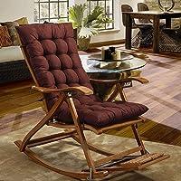 CXZC Cojín de silla de salón de patio de 120 cm, cojines de interior/exterior Chaise…