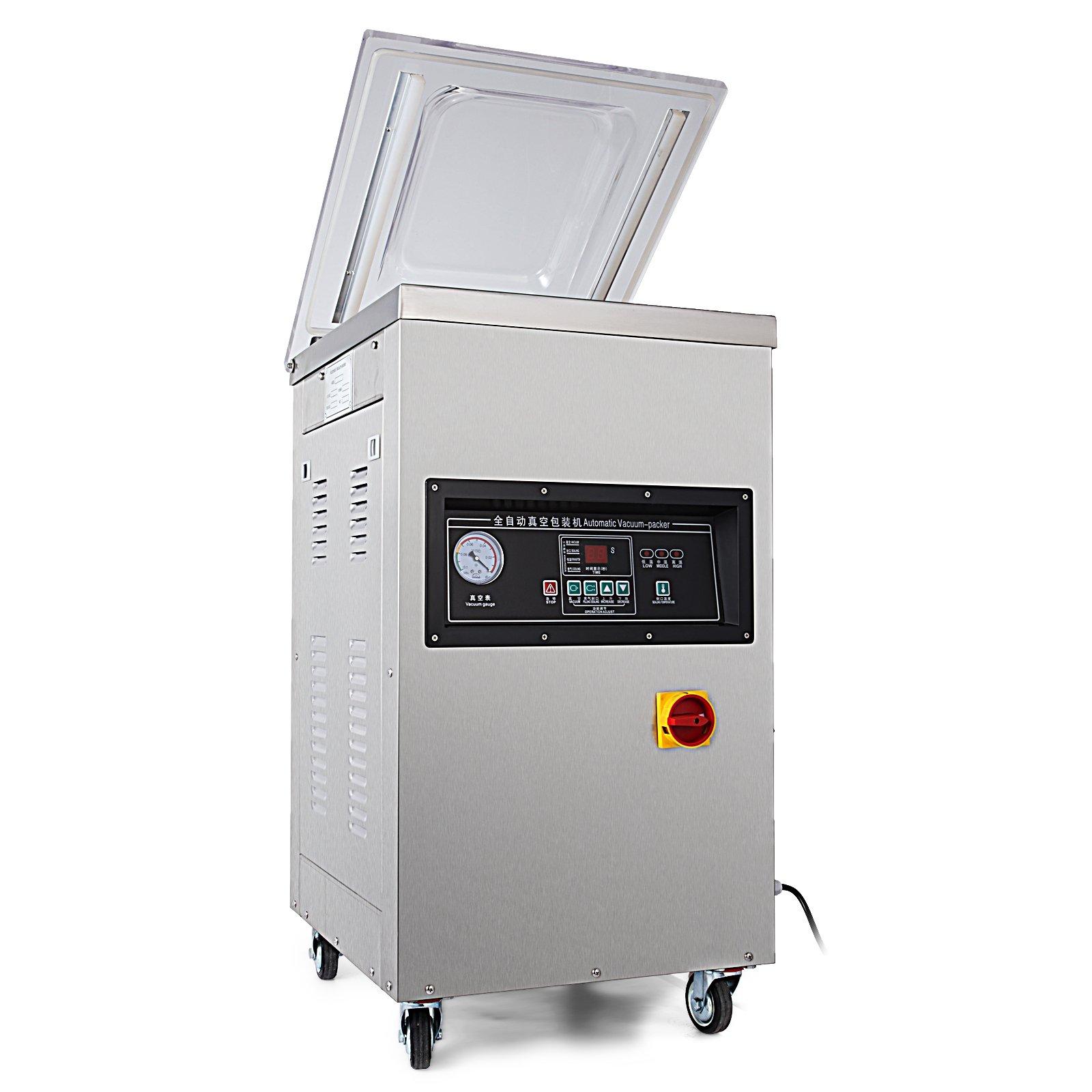 Happybuy DZ-400/2E Chamber Vacuum Sealer 1000W Vacuum Sealer Machine Automatic Vacuum Packing Sealing Sealer Machine for Home or Commercial Use (DZ-400/2E) by Happybuy (Image #1)