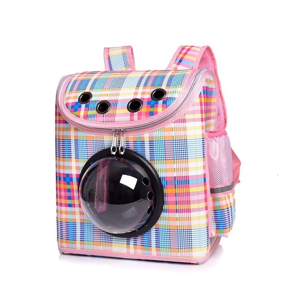 Dixinla Pet Carrier Backpack Space capsule out of pocket, dog, cat, Shoulders, 38  22  32cm, oxford cloth.