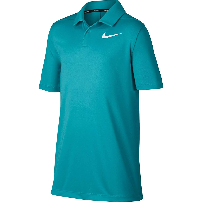 Little Big Kids Nike Boys Dry Short Sleeve Tennis Polo
