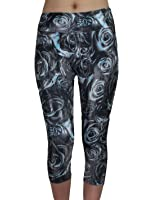 Balance Collection (By Marika) Womens Professional Sports Leggings / Yoga Capri Pants
