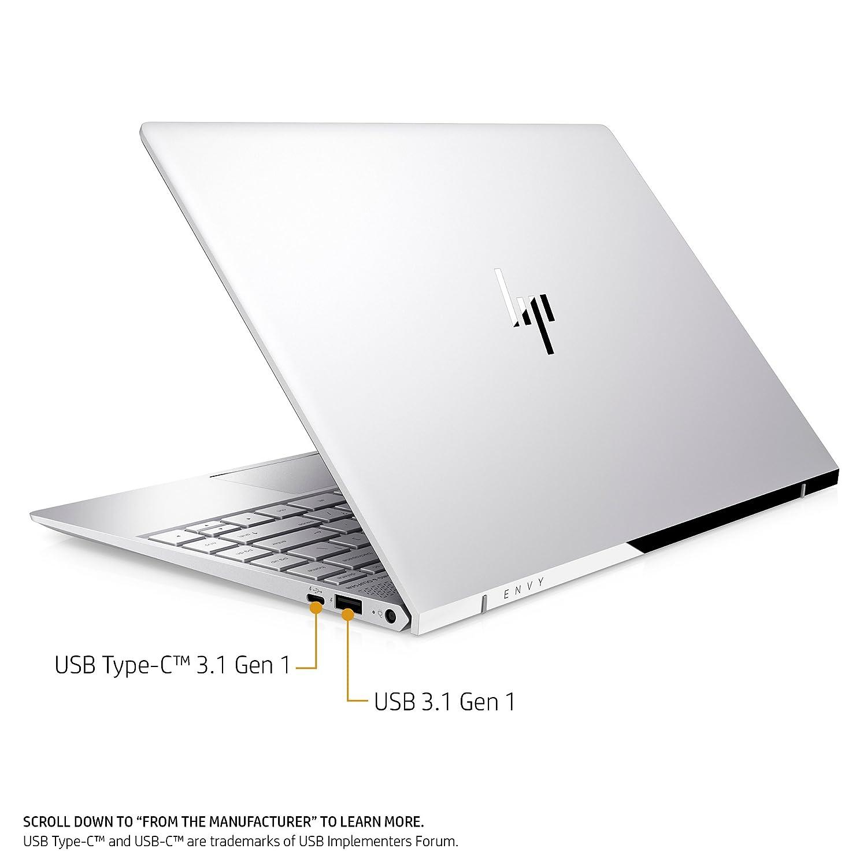 HP Envy 13-ad120nr 1.8 GHz i7 - 8550u 13.3 1920 x 1080pixel Plata Ordenador portátil: Amazon.es: Informática