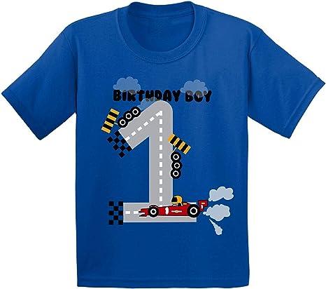 Awkward Styles Birthday Boy Infant Shirt Race Car Birthday Party for 1 Year Old