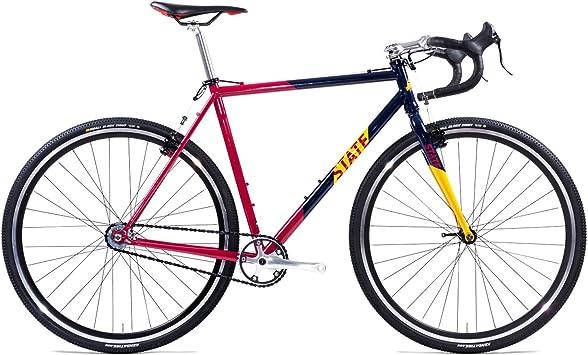 State Bicycle Co. Warhawk Cyclocross Offroad bicicleta de una sola velocidad: Amazon.es: Deportes y aire libre