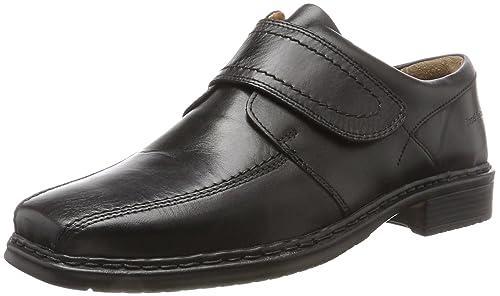 Mens Maurice 16 Loafers, Black Josef Seibel