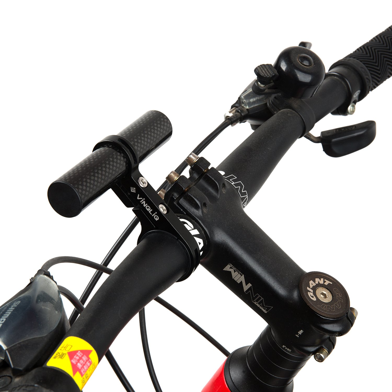 Bike Bicycle Front Light Lamp Mount Holder Bracket Cycling Parts Aluminium Alloy Keenso Bike Handlebar Extender Lamp Light