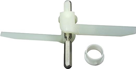 Durchlaufschnitzlerflügel Mitnehmer Küchenmaschine Bosch Siemens 091027 00091027