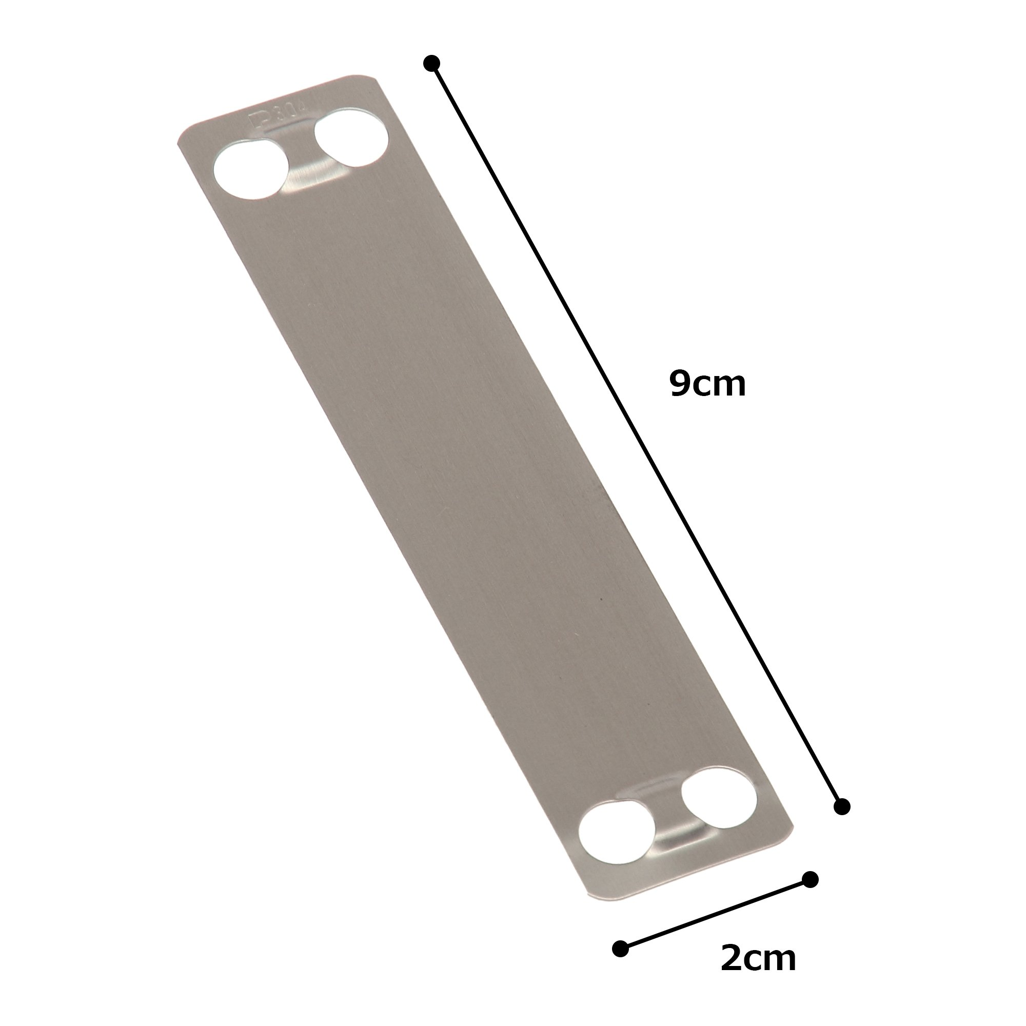 Panduit MMP350-C316 Marker Plate, 316 Stainless Steel, Natural Color (100-Pack) by Panduit (Image #4)