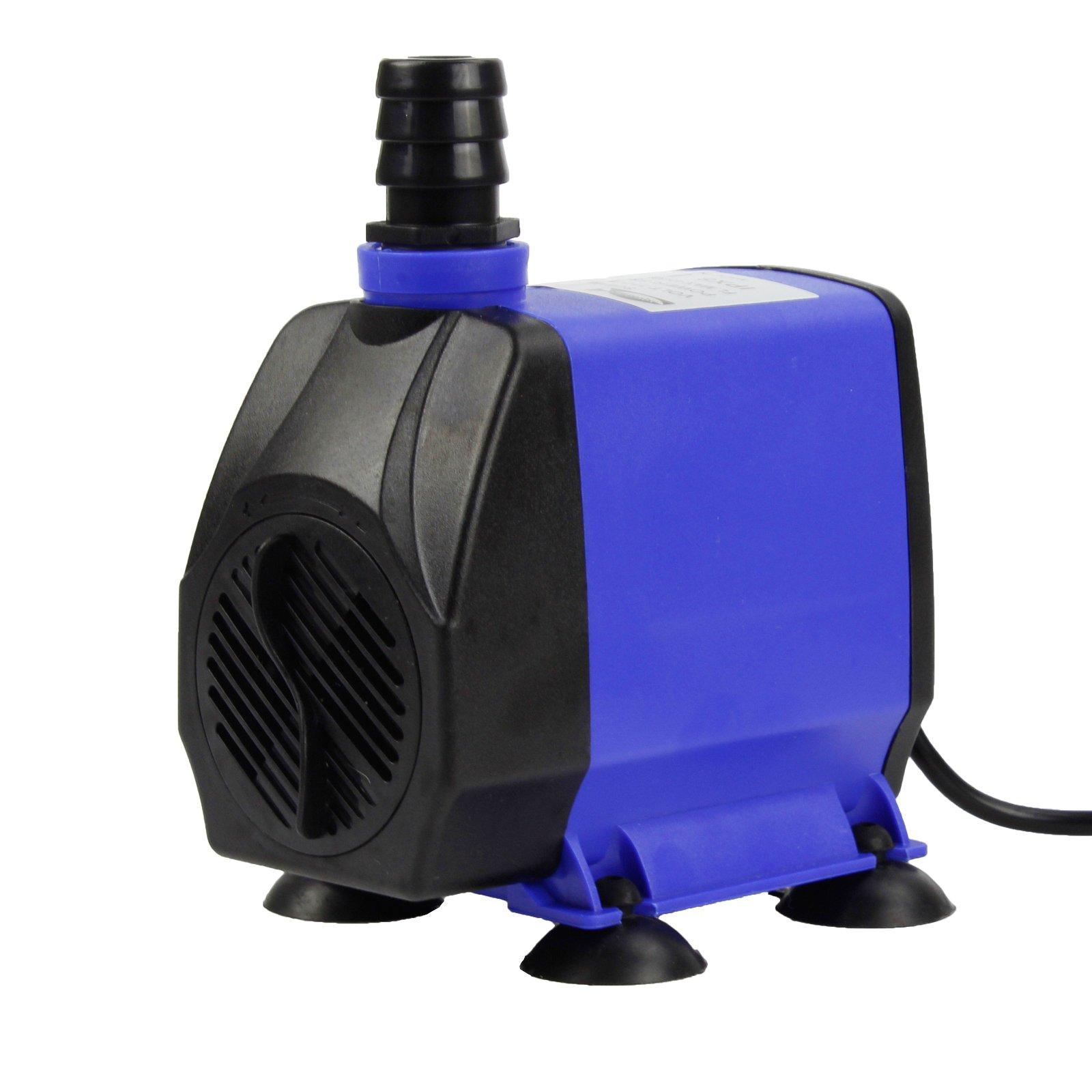 AQUANEAT 1200 GPH Submersible Water Pump Adjustable Powerhead Aquarium Fish Tank Fountain Hydroponic