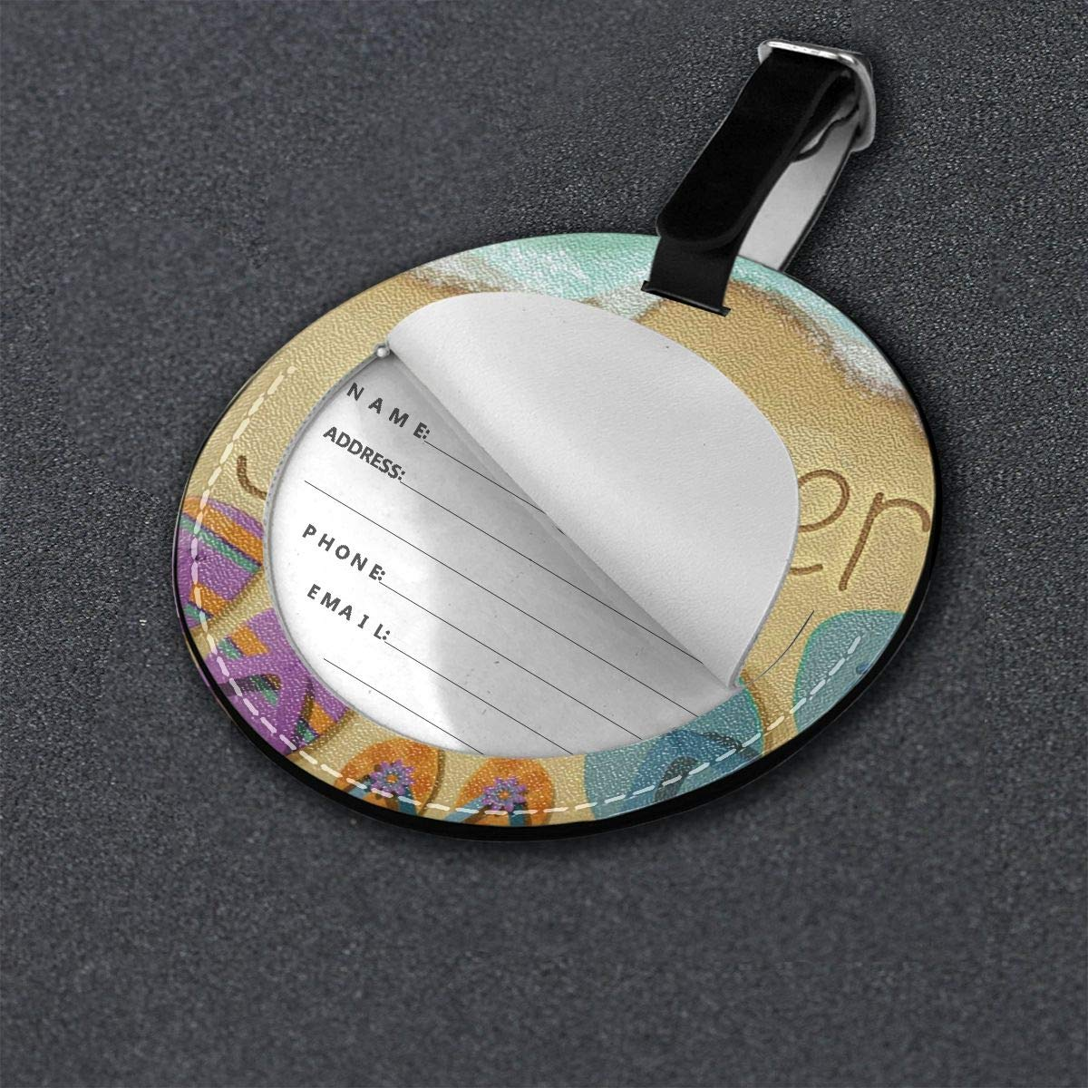 Luggage Tags Striped Travel Accessories Baggage Name Tags