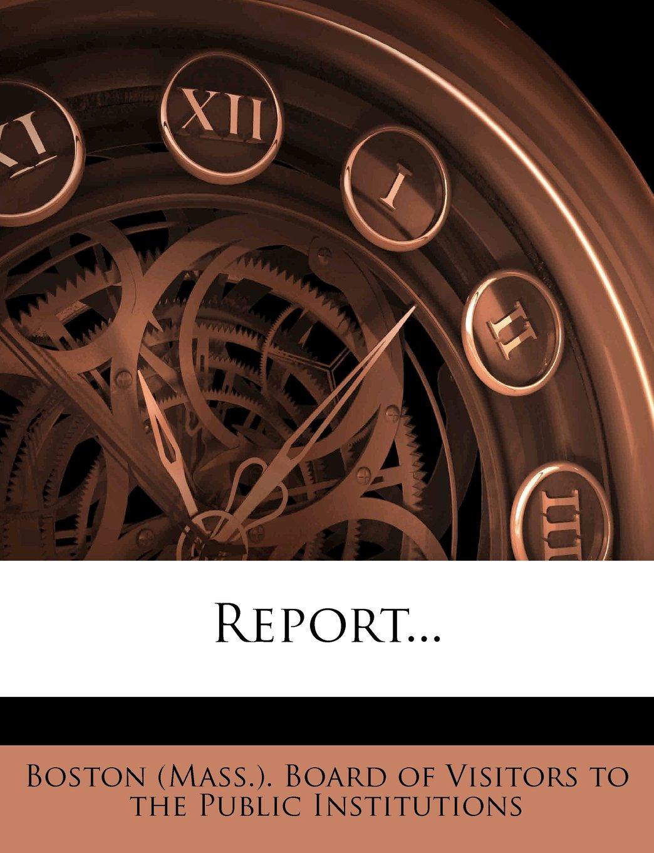 Report... ebook