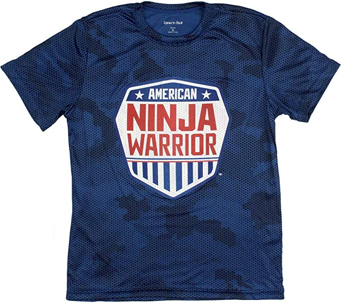 Amazon.com: American Ninja Warrior - Camiseta de manga corta ...