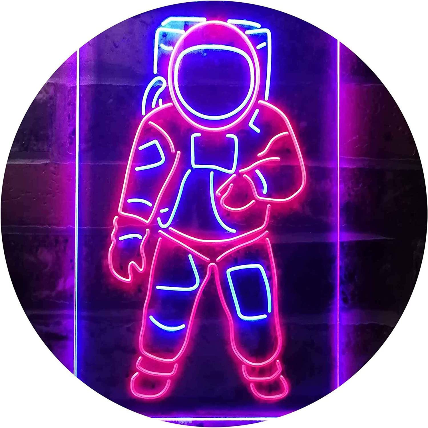 Astronaut for Kid Bedroom Dual Color LED Neon Sign st6-i3359