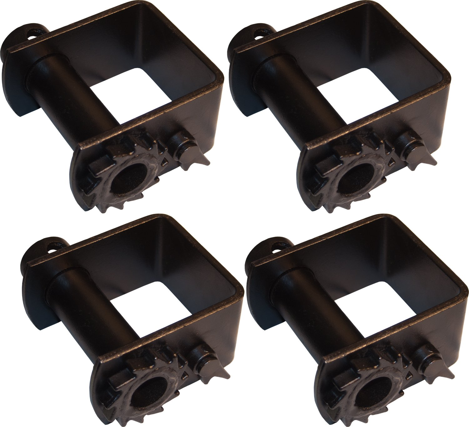 4 Heavy Duty Weld On Winches for Flatbed Trailers, Car Haulers GPD
