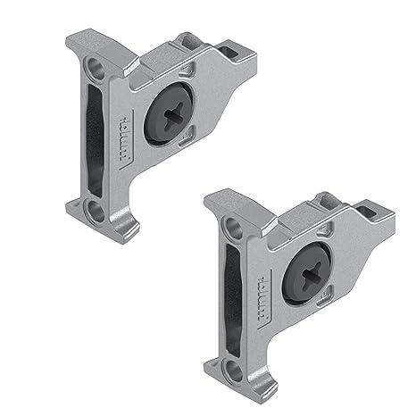 Blum TANDEMBOX ZSF. 3502 – Sujeción Frontal para cajón Soportes para Tandembox cajones (1 par)