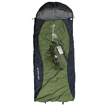 10T Outdoor Equipment 10T Giraffe 300 Saco de Dormir de Manta, Infantil, Gris,