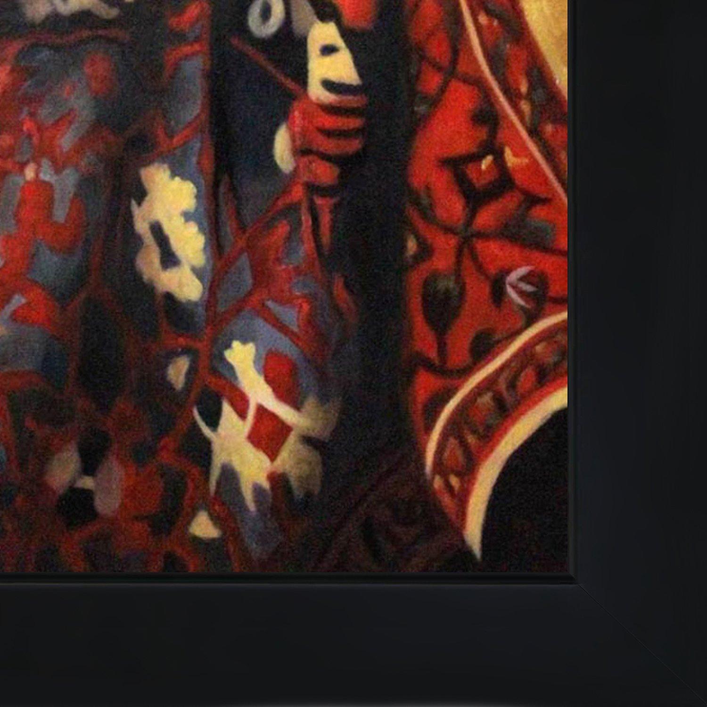 overstockArt Vermeer Procuress with New Age Wood Frame
