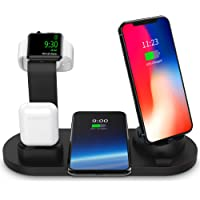 $39 Get SODYSNAY Wireless Charger, 3 in 1 Wireless Charging Dock for Apple Watch and Airpods,…