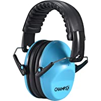 Kids Ear Muffs, Champs Baby Earmuff Noise Protection Reduction Headphones for Toddlers Kid Children Teen NRR 25dB Safety…
