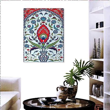 Amazon com: Turkish Pattern Print Paintings Home Wall Office Decor
