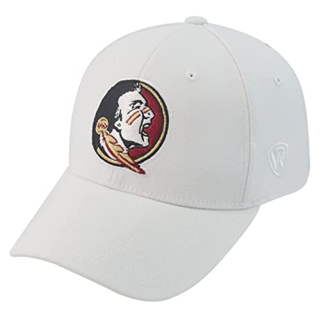hot sale online 183fd 4a6eb Amazon.com   Top of the World Florida State Seminoles Official NCAA One Fit  Tow HAT 263731   Sports   Outdoors
