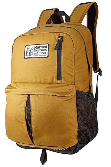 Marmot Mendocino Backpack One Size Waxed Field Brown
