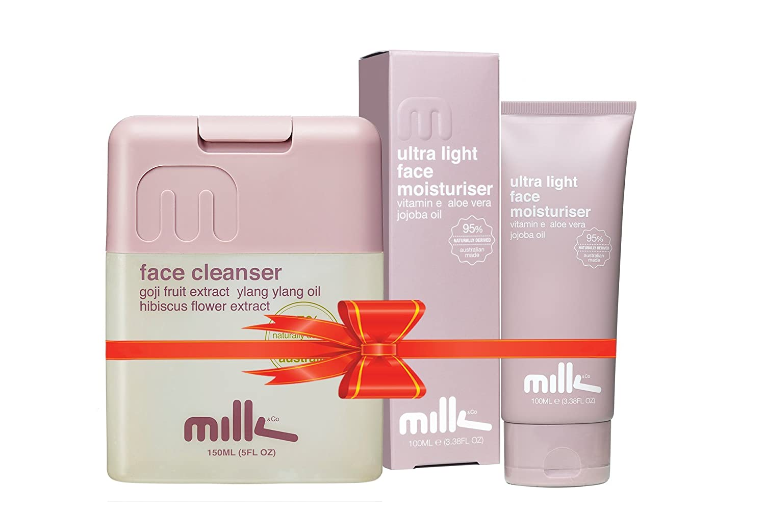 Milk & Co Women Combo (Ultra Light Moisturizer & Face Cleanser)