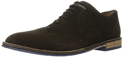 Special Products Men Hush Puppies Style Wingtip Oxford Black - F9Y2919127