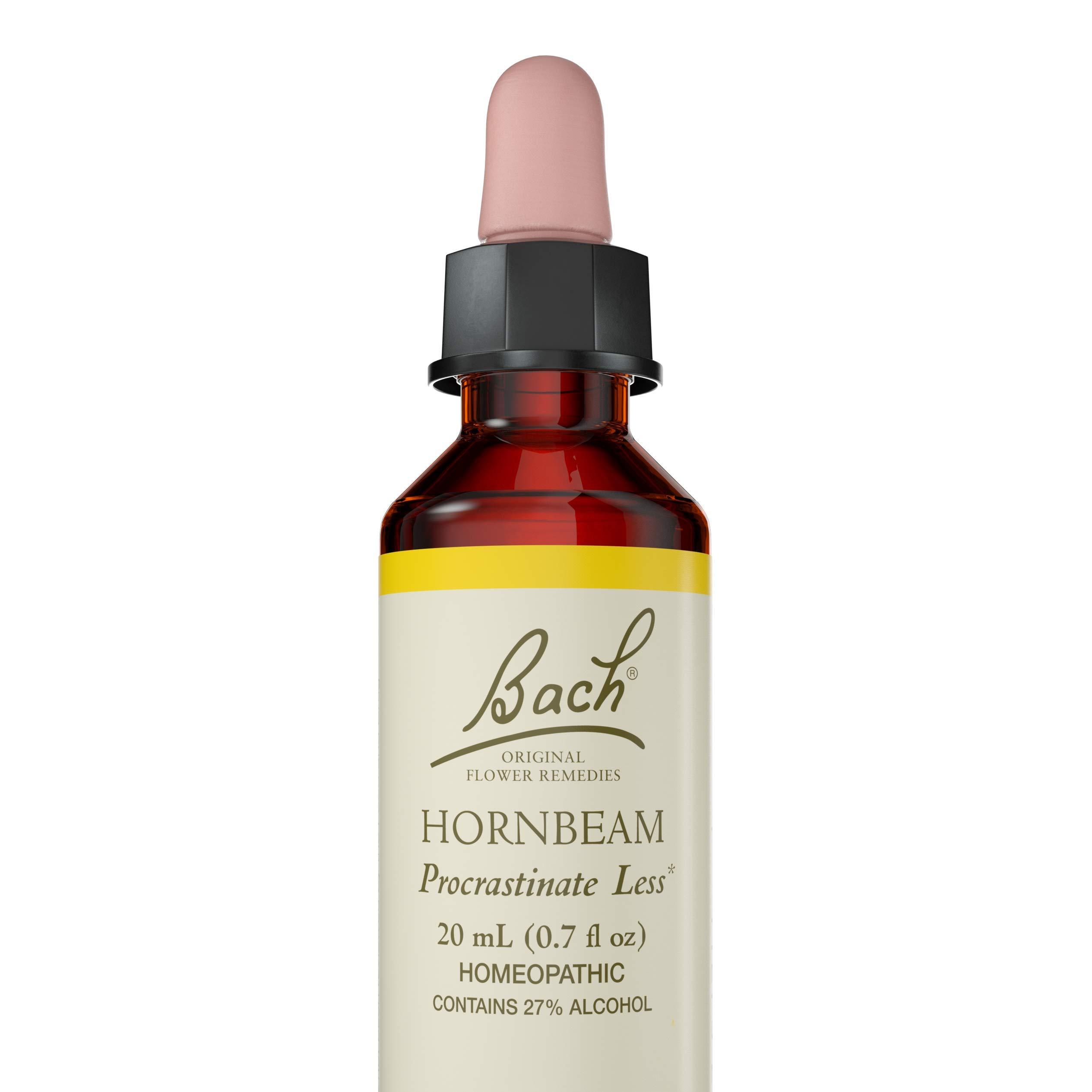 Bach Original Remedy Dropper 20 ml, Hornbeam Flower Essence, 0.7 Fl Oz