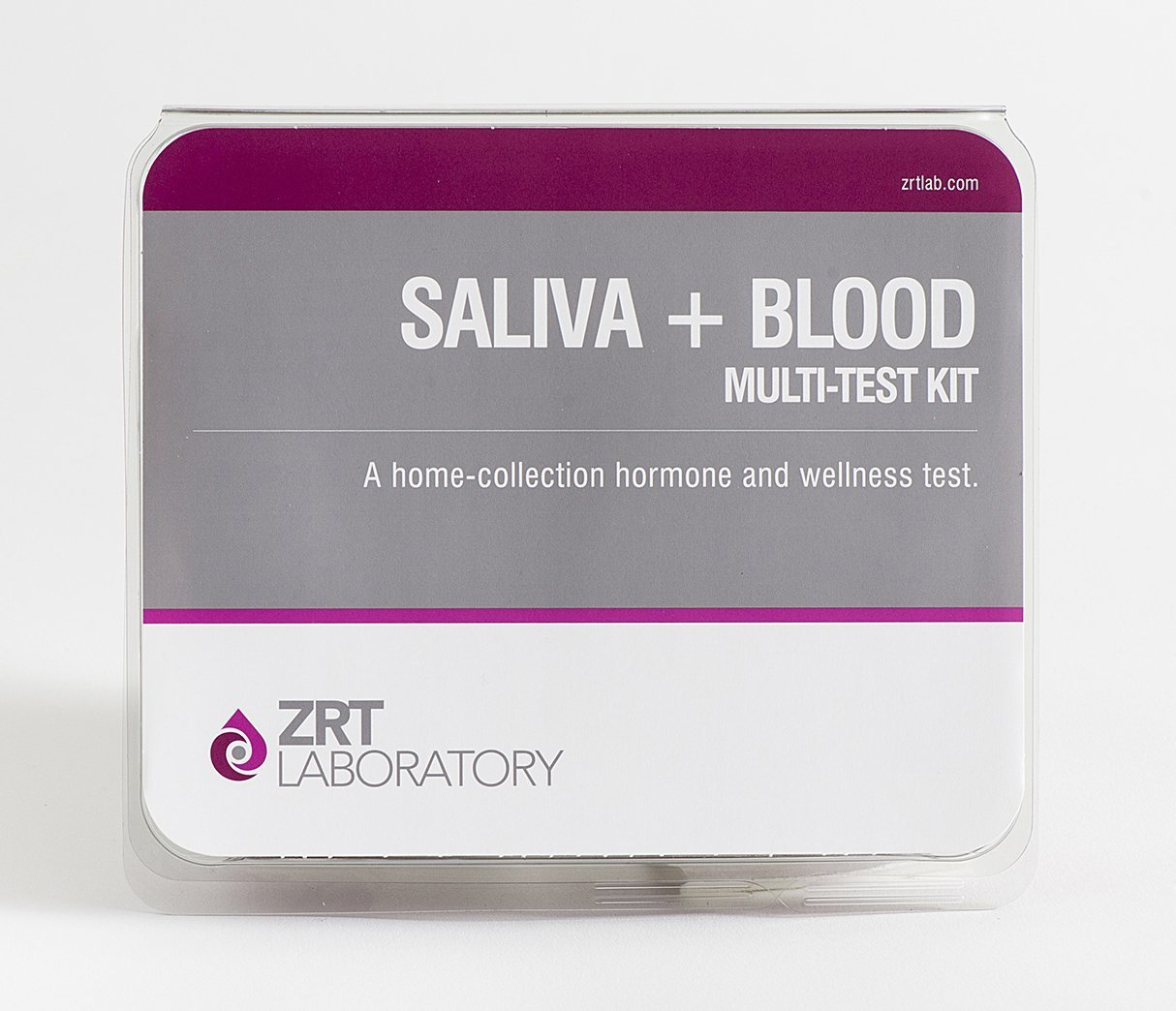 12 Hormone Comprehensive Male Profile I Home Test Kit (Saliva: E2, T, DS, Cx4; Blood: PSA, TSH, fT3, fT4, TPO) - Includes Pre-Paid Sample Return Label by TestCountry/ZRT Laboratory (Image #2)