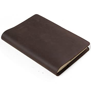 ANCICRAFT Simple Classic Leather Journal Notebook Refillable ...