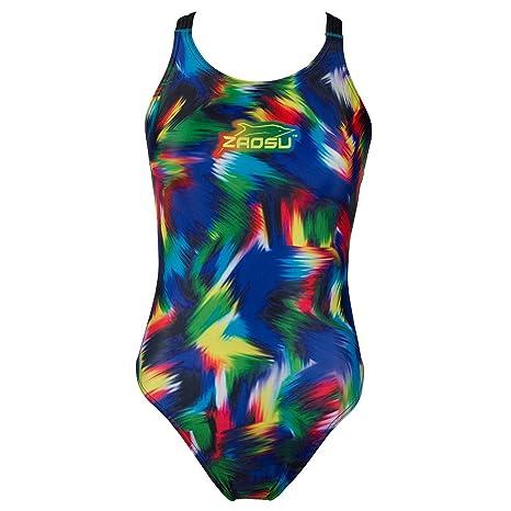 d325122911489 ZAOSU Schwimmanzug Badeanzug Z-Rainbow für Mädchen und Damen: Amazon ...