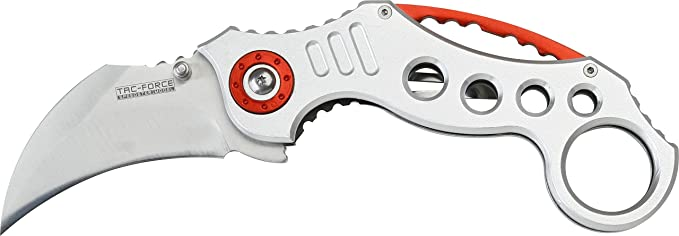 3 opinioni per Tac Force Karambit lunghezza lama: 6,4tafo adulti coltello Outdoor coltello da