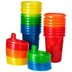 The First Years Take & Toss Sippy Cups Value Set - 20 Pack, Rainbow