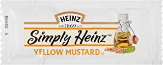 product image for Simply Heinz Yellow Mustard Single Serve Packets (0.2 oz Packets, Pack of 500)