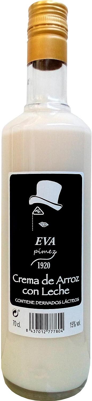 Crema Arroz con Leche Eva Pímez 1920 Bot. 70 cl [Pack 6 ud]: Amazon.es: Alimentación y bebidas