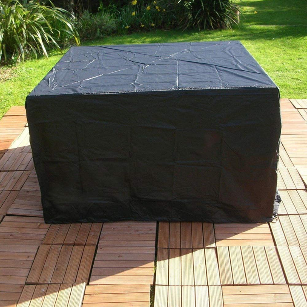 LXJ Indoor and Outdoor Protective Cover Dustproof Waterproof UV Protection Table and Chair Protective Cover Outdoor Furniture Cover