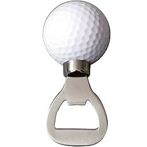 Golf Ball Bottle Opener, Golfer Beer Gift Novelty Item for the Golf Lover and Beer Enthusiast