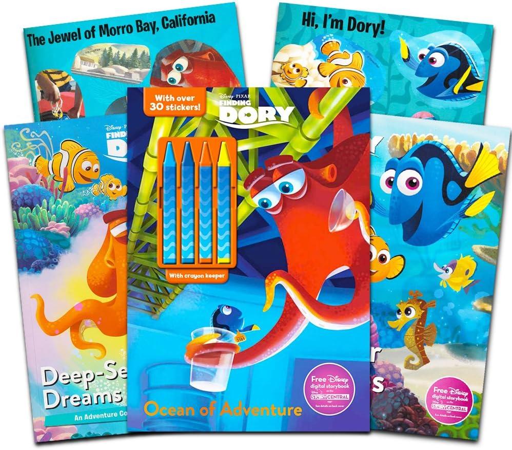 - Amazon.com: Disney Pixar Finding Nemo Dory Coloring And Activity