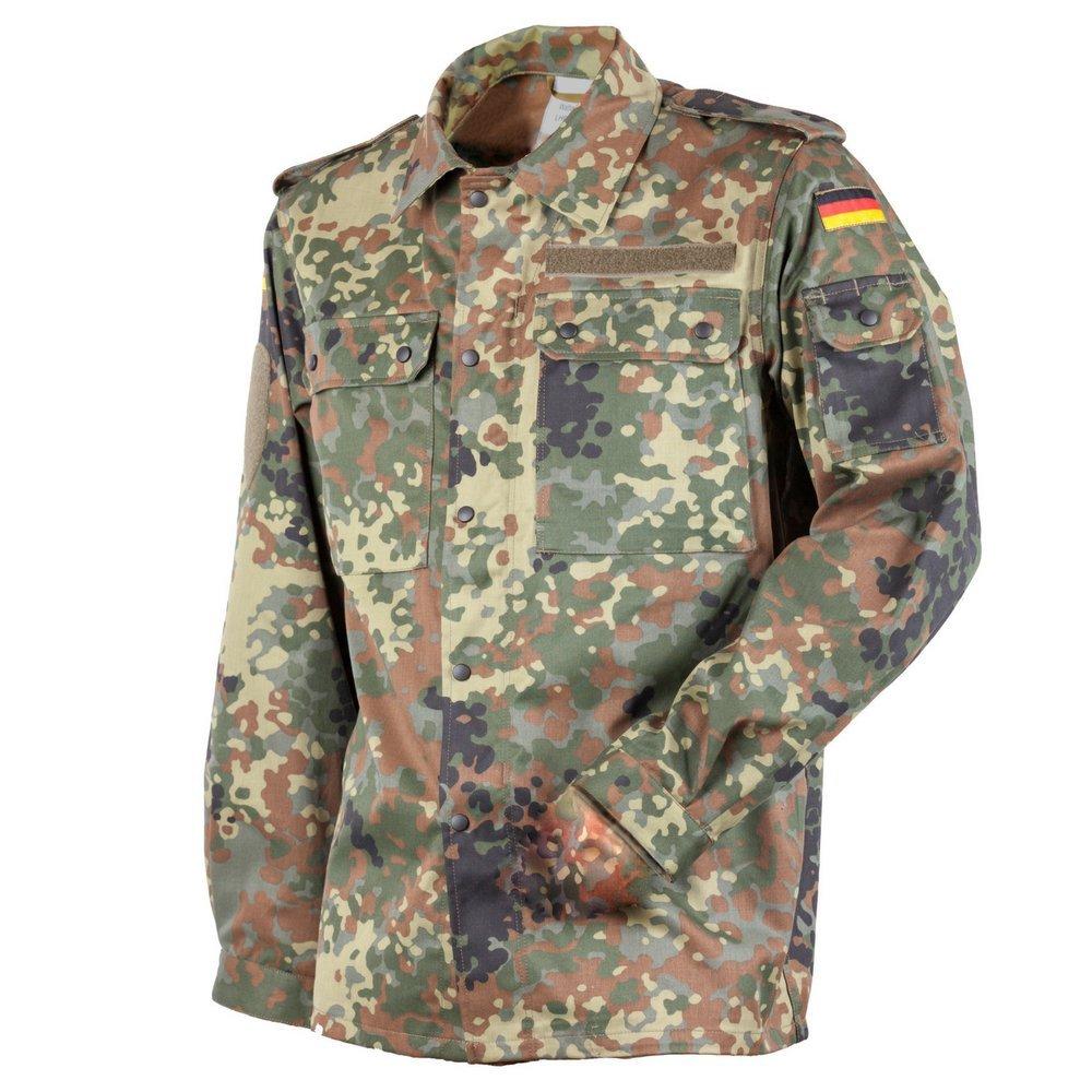 FLECKTEX FLECKTEX FLECKTEX Original Bundeswehr BW FeldBlause Flecktarn 5- Farbig für Männer   Outdoor KampfBlause und Survival Blause   Tactical Blause und Security Blause B0754QR5WQ Militr Qualitätskleidung 12697a