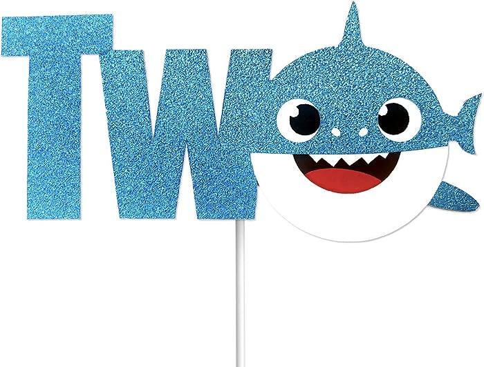 Top 10 Blue Shark Cupcake Topper For Boys