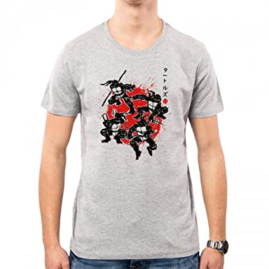 PacDesign Camiseta Hombre Mutant Warriors Ninja Turtles ...